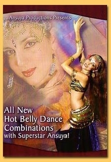 DVD Ansuya : All New Hot Belly Dance Combinations with Superstar Ansuya