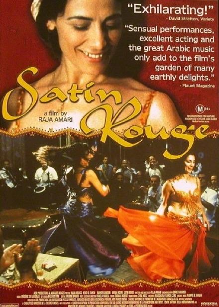 DVD Buikdans film Satin Rouge - Bellydance movie Satin Rouge Red Satin