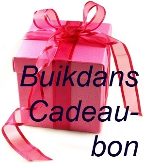 Buikdans Cadeaubon 15,-Euro- Bellydance Gift Voucher 15,-Euro