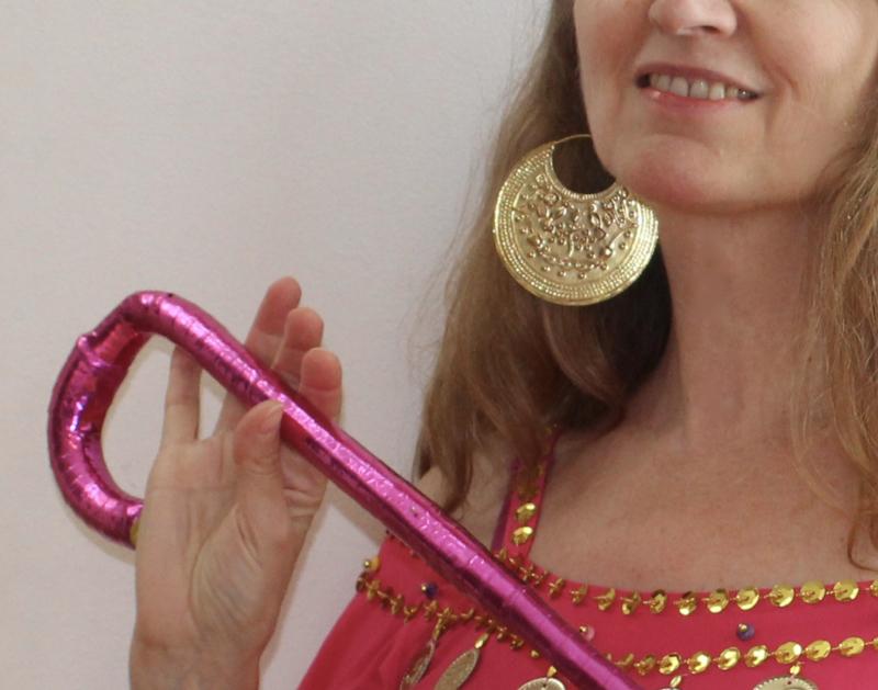 Saidi oorbellen GOUD kleur Egypte met hierogliefen symbolen - diameter 7,5 cm - Saidi earrings GOLD color Egypt with pharaonic symbols