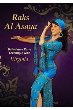 DVD Raks Al Asaya - Bellydance Cane Technique with Virginia