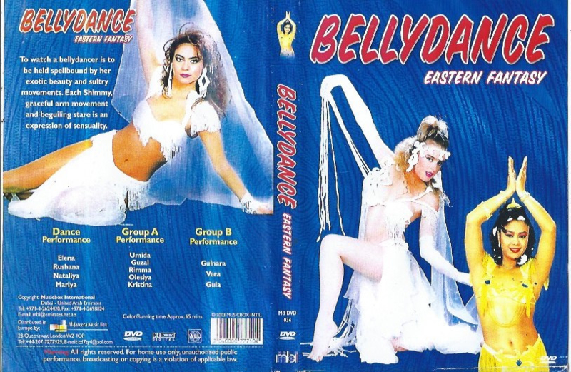 DVD Eastern Fantasy Bellydance Buikdans
