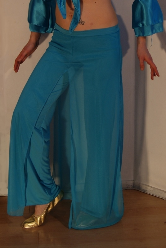 Broek/rok TURQUOISE turkoois oefenkleding - TURQUOISE / cyan exercise pants / skirt