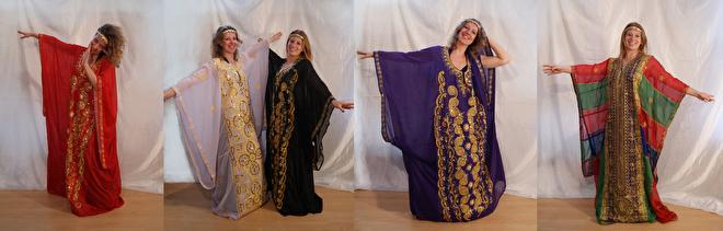 khaleegy jurk glitter alle maten tot xxxl