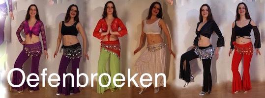Danskleding buikdans Oefenkleding stretch broek jazz pants oefenbroeken