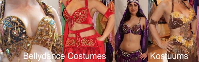 Buikdans kostuums glamour uit Egypte Turkije Orientaalse Dans Bellydance costumes