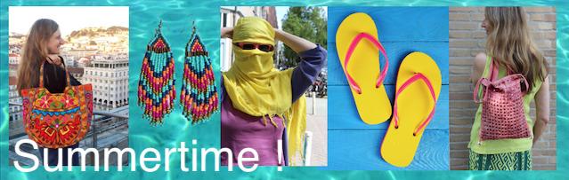 Boho Summertime bellydance buikdans kleding mode juwelen handtassen zomer gordels sjaaltjes