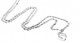 CS necklace/lanyard zilverkleurig