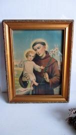 R002 Schilderijtje van de Heilige Anthonius