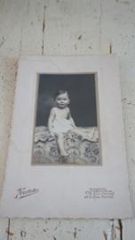 Oude kinderfoto
