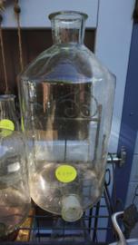 Laboratorium fles (middel)