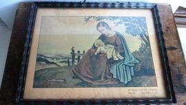 R017 Religieus schilderijtje