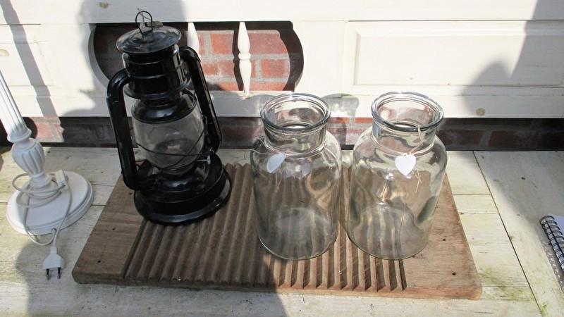 B192 Grote glazen pot