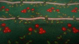 Coupon Retro Kerstbessen 56 x 37 cm