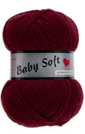 Baby Soft Donker Rood