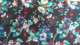 Laura Ashley Bloemen Zwart/Veelkleurig