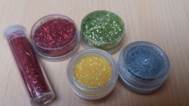 Setje Glitter 5 stuks
