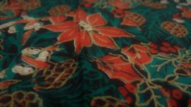 Coupon Retro Kerststerren 56 x 26 cm