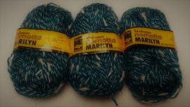 Schahenmayr Marilyn Petrol/Wit 2664