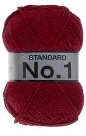 Standaard No 1 Rood Donkerrood
