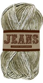 Lammy Yarns Jeans Armygroen