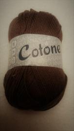 Lana Grossa Cotone Bruin 029