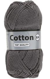 Lammy Yarns Cotton 8/4 Grijs