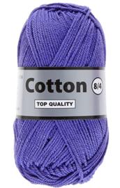 Lammy Yarns Cotton 8/4 Paars