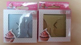 2 Doosjes Cupcake Standaard