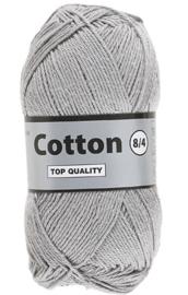 Lammy Yarns Cotton 8/4 Lichtgrijs