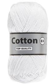 Lammy Yarns Cotton 8/4 Wit