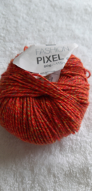 Rico Design Fashion Pixel Oranje/Kleurtjes