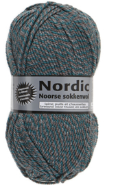 Lammy Yarns Nordic Noorse Sokkenwol Groen