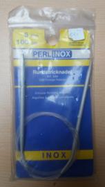 INOX Rondbreinaalden 5 mm 100 cm