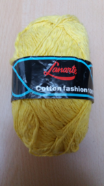 Lanarte Cotton Fashion Geel 336