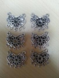 Metalen Ornament 6 stuks