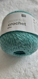Rico Design Essentials Crochet Glitz Blauw