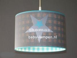 lamp babykamer met  3x ster Thomas