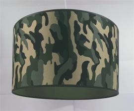 Armylamp groen bruin