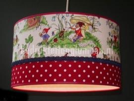 Babylamp kabouter en rode stip