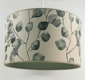 babylamp beige linnen eucalyptus takken