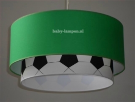 lamp babykamer groen en voetbal