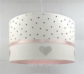 Meisjeslamp hartjes