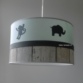 lamp babykamer jungle dieren