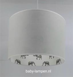 plafondlamp babykamer olifantjes