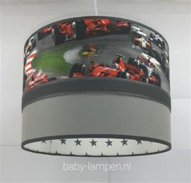 Plafondlamp formule 1 raceauto grijs