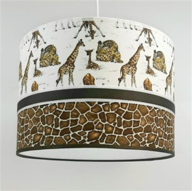 babylamp jungle met giraffen