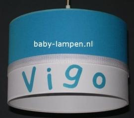 lamp babykamer aqua blauw Vigo