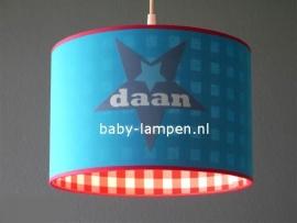 lamp babykamer met  3x ster Daan
