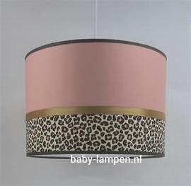 Lamp babykamer panter motief